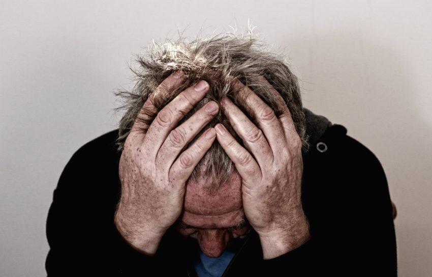 CBD olie mod migræne bilde af mand
